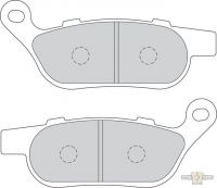 4541032 - FERODO Brake Pad OEM Caliper Rear, Softail/Dyna 08-17, Sinter Grip ST-Compound