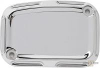 550149 - Beveled Front Master Cylinder Covers, Chrome