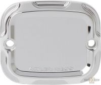 550153 - Arlen Ness Beveled Front Master Cylinder Covers, Chrome