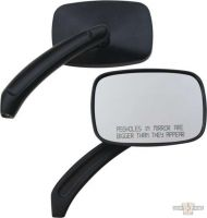 600555 - ACCEL CCE Rectangular Asshole Mirrors, black
