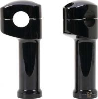 "604303 - ACCEL CCE BLK. RISER KIT 2 PC TOP CLAMP 5"", offset"