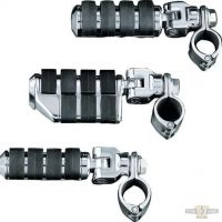 "605150 - Küryakyn Dually ISO-Pegs with Mounts & 1-1/4"" Magnum Quick Clamps"