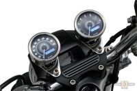 619376 - Velona Speedometer 60mm, Stainless Steel Polished, White LED, CHR 200 km/h