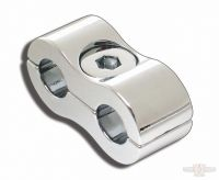 641126 - THROTTLE / IDLE CABLE CLAMP CHROME