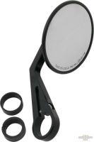 "653777 - Bar End Mirror Montana, Black (7/8""/1"" Handlebars), Black"