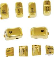659355 - ACCEL CCE 10 Pc Switch Cap Set W/Audio & Cruise Gold
