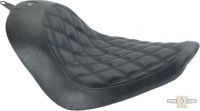 895621 - Solo Seat, Boss, Black, Softail 06-17 With 200mm Tire (Does Not Fit Co...