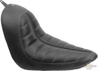 895622 - Solo Seat, Enzo, Black, Softail 06-17 With 200mm Tire (Does Not Fit Co...