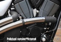 990043 - PM American Cycles Victory,Heatshield Top Chopp Hammer Front Showchrome