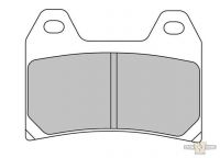 990115 - Ferodo, Brake Pad, Platinum Compound, 75.2x55.2x7.6mm, Front