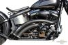 "683101 - BSL Hot Shot E3 Rainbow Down Under Black , Softail 87-16 (87-06 Require Oxigen Sensor Bung Plug 688189, 12-16 Oxigen Sensor Bung Reducer 670859) Interference Pipe Is Recommended 103"" Engines Up!"