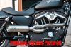 888530 - BSL Skull Headers E3 Bomb Outline Showchrome, Sportster 04-13  (04-06 Require Oxigen Sensor Bung Plug 688189)