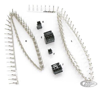 amp multilock stecker 8 poliger stecker f r pins. Black Bedroom Furniture Sets. Home Design Ideas